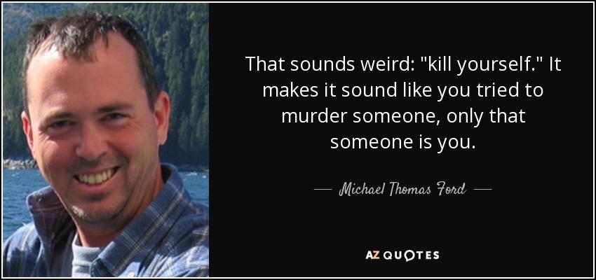 That sounds weird: