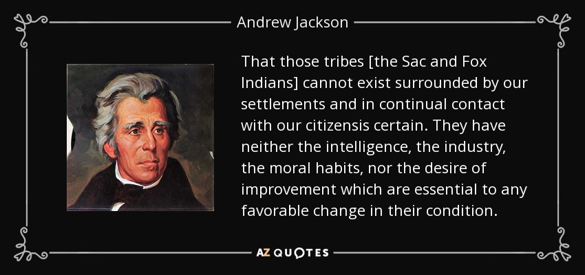a look at andrew jackson and his policies Were andrew jackson's policies andrew jackson was at will take on jackson and his policies from the point of view of the early nineteenth-.