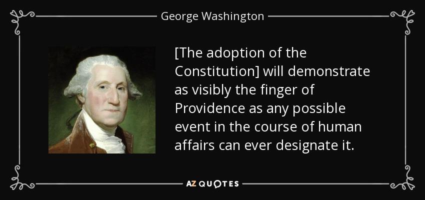 George Washington PROVIDENCE