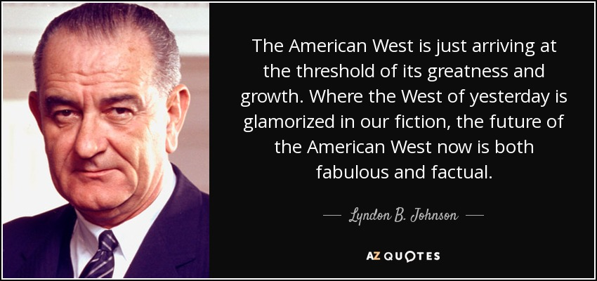 greatness of lyndon b johnson The lyndon johnson presidency marked a vast expansion in the role of the national government in domestic affairs johnson laid out his vision of that role in a johnson labeled his ambitious domestic agenda the great society the most dramatic parts of his program concerned bringing aid to.