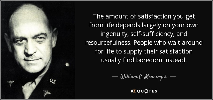 TOP 9 QUOTES BY WILLIAM C. MENNINGER | A-Z Quotes