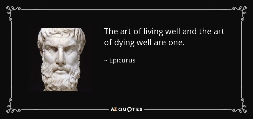TOP 7 DYING WELL QUOTES | A-Z Quotes