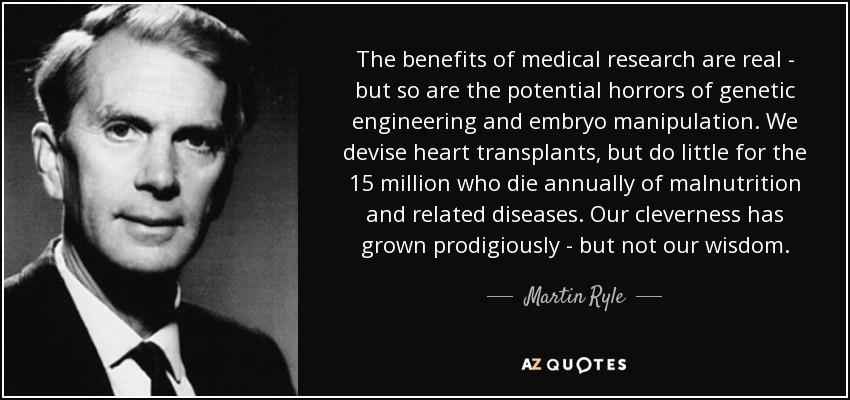 Benefits of Human Genetic Engineering