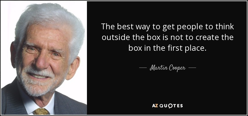 Top 9 Quotes By Martin Cooper A Z Quotes