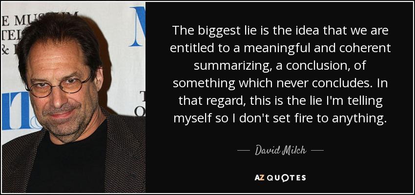 david milch imdb