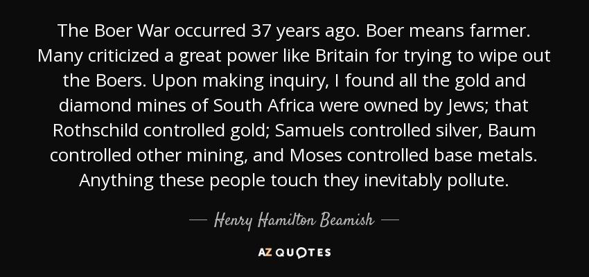 Henry Hamilton Beamish