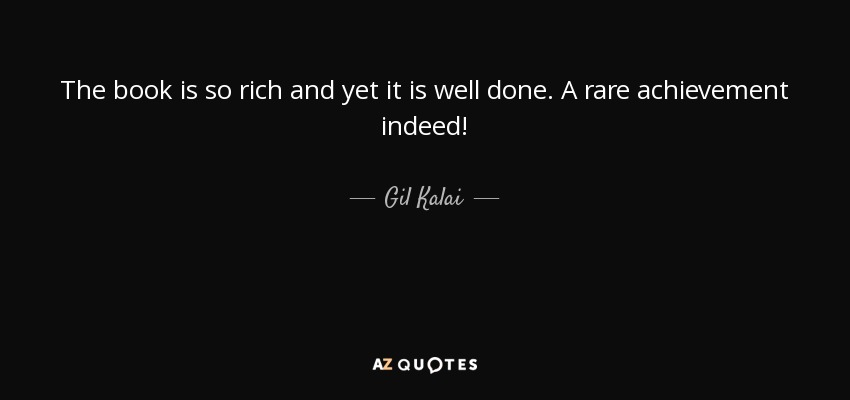 The book is so rich and yet it is well done. A rare achievement indeed! - Gil Kalai
