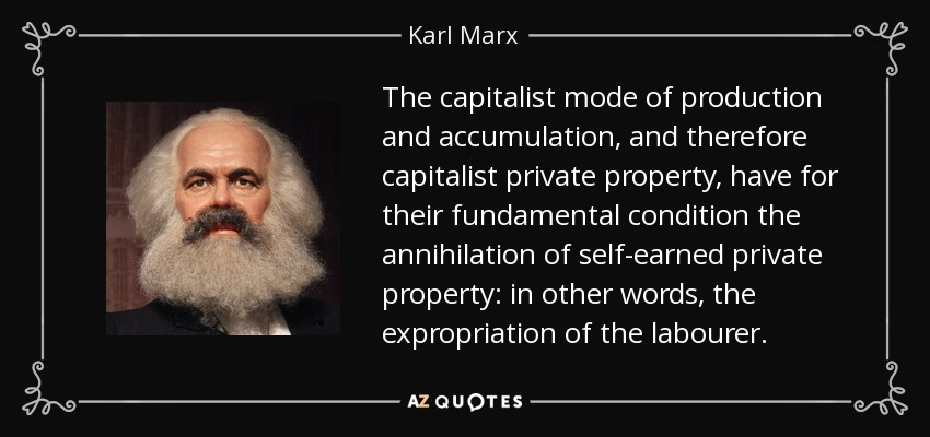 karl marx and capitalism