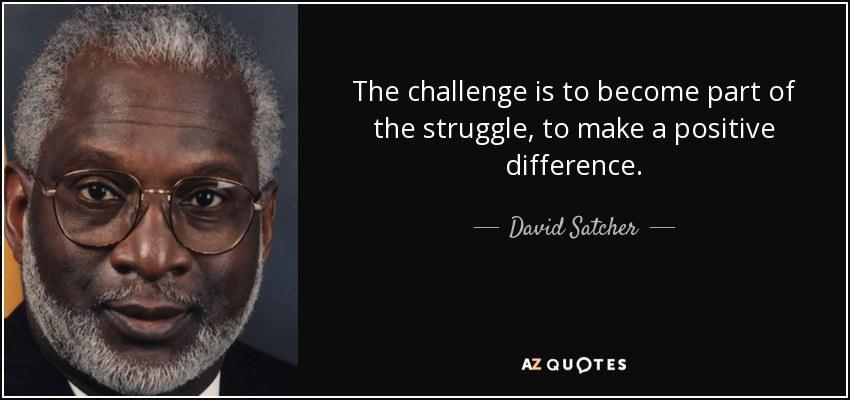 Top 12 Quotes By David Satcher A Z Quotes