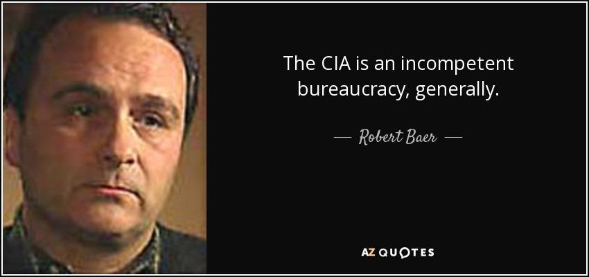 Robert Baer: American politics Run on Ideology, Not information ...
