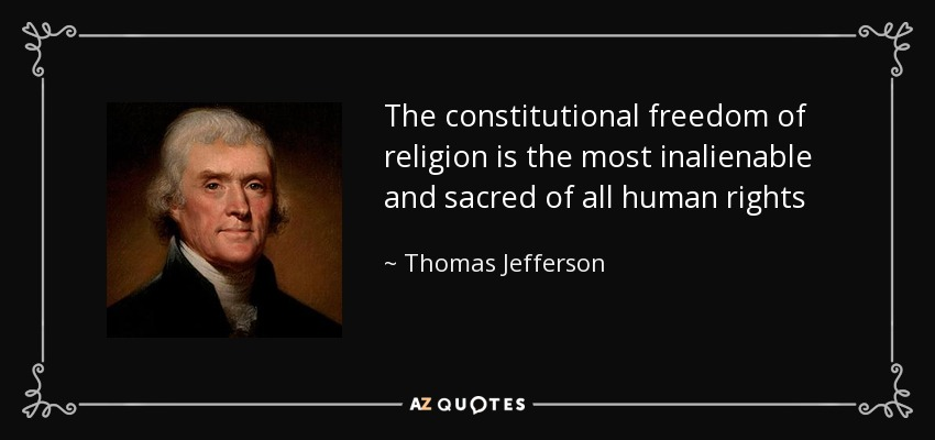 Top 25 Freedom Of Religion Quotes Of 117 A Z Quotes
