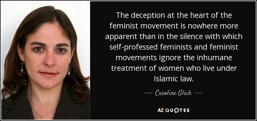Caroline Glick quote: The deception at the heart of the ...
