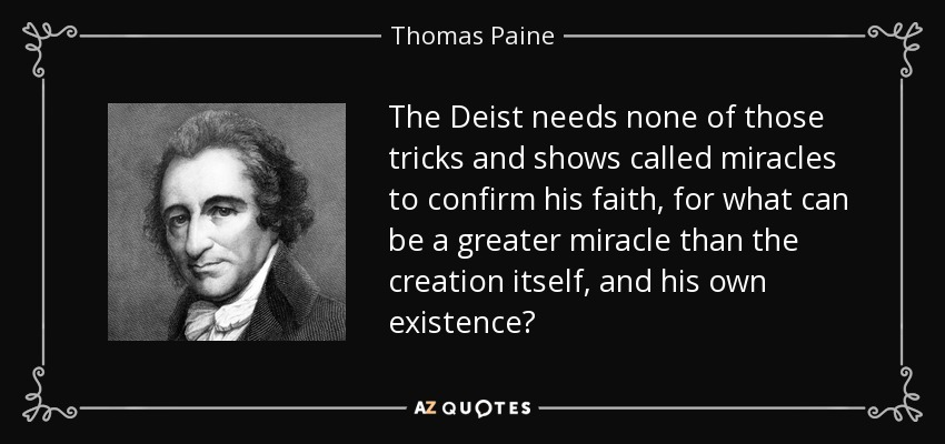 Image result for famous Deist