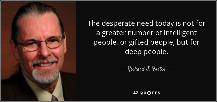 Top 25 Quotes By Richard J Foster Of 122 A Z Quotes