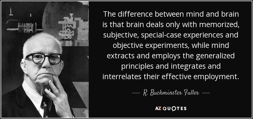 The brain/mind distinction
