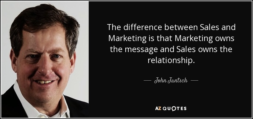 the difference between a quote driven market What's the difference between marketing and sales driven by human interaction marketing vs sales.