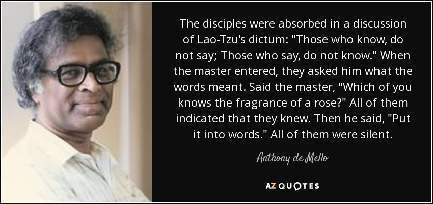 The disciples were absorbed in a discussion of Lao-Tzu's dictum: