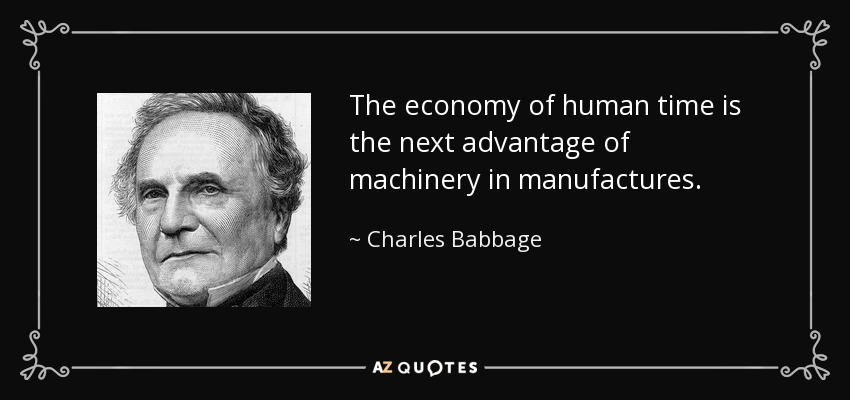 a biography of charles babbage the english polymath Complete charles babbage 2017 biography charles babbage family  biography english polymath who's regarded as the daddy of processing for his invention of the.