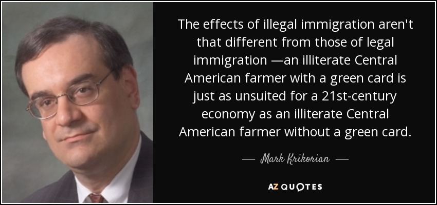 the effect of illegal immigrants in