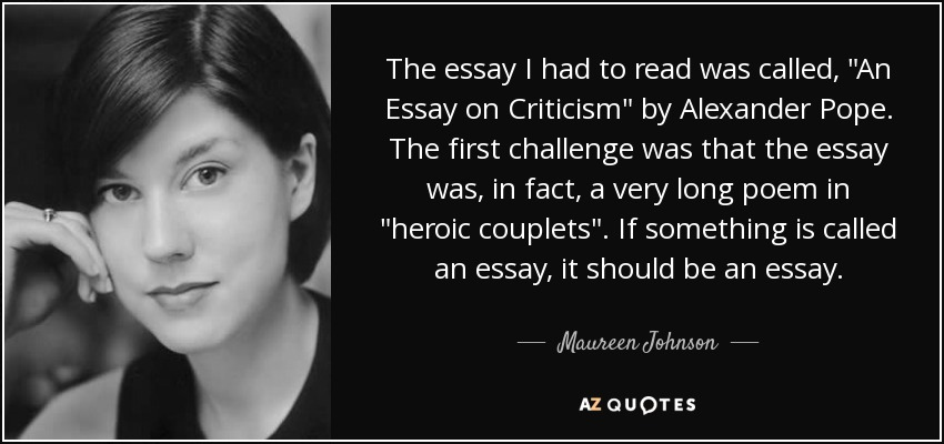 How to quote couplets in essays?