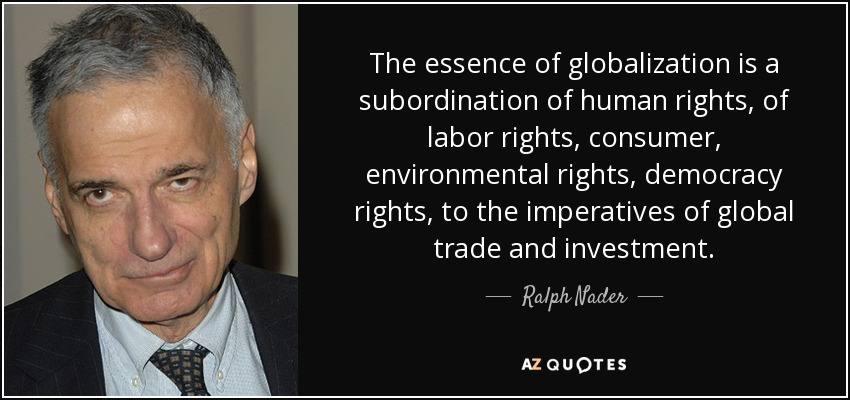 Globalization and Human Rights?