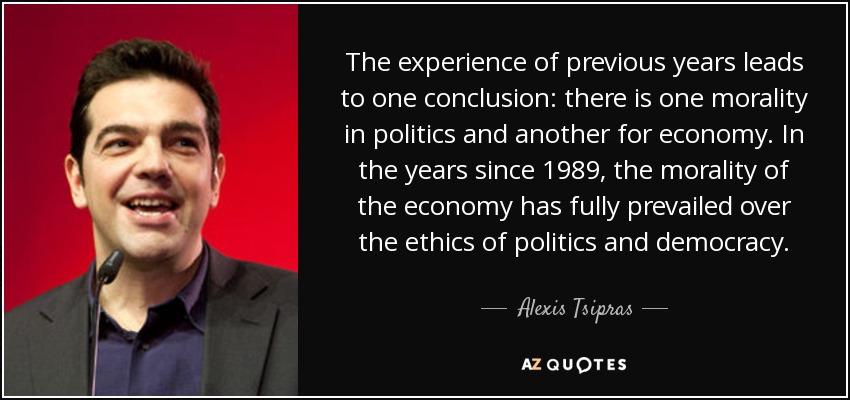 morality in politics