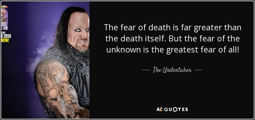 how to avoid death fear