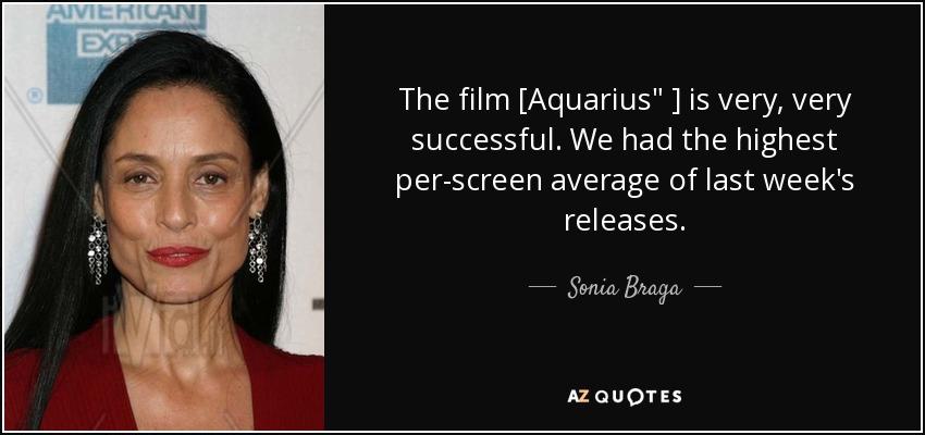 The film [Aquarius