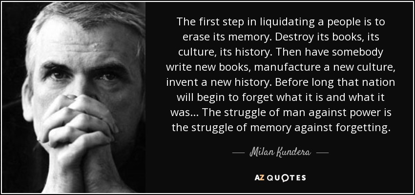 top quotes by milan kundera of a z quotes