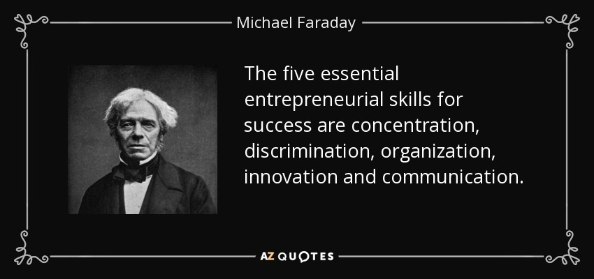 TOP 25 QUOTES BY MICHAEL FARADAY (of 70)
