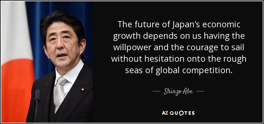 Top 25 Quotes By Shinzo Abe A Z Quotes