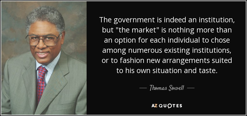 The government is indeed an institution, but
