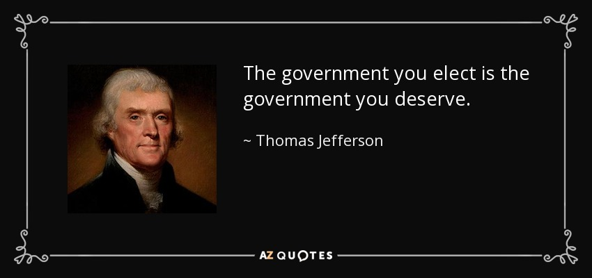 TOP 25 QUOTES BY THOMAS JEFFERSON (of 1820)