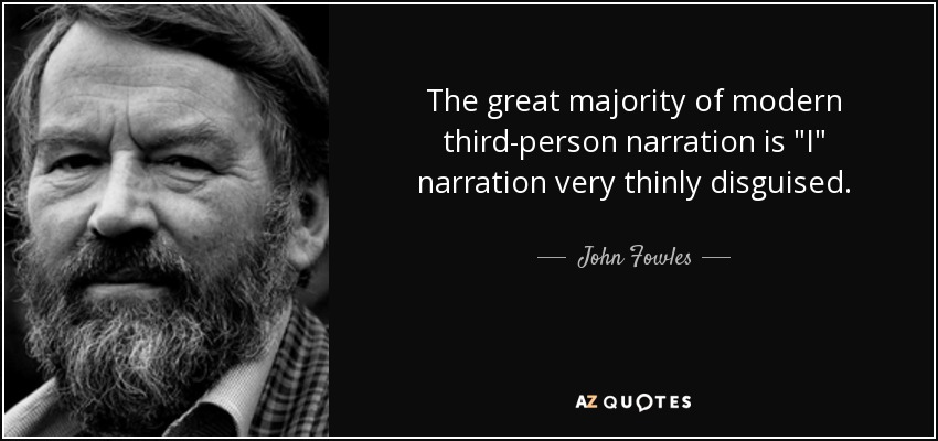 The great majority of modern third-person narration is