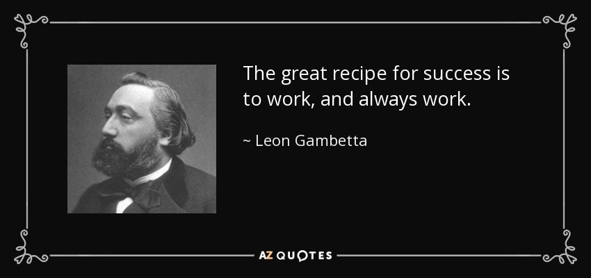 Top 25 Recipe For Success Quotes Of 361 A Z Quotes