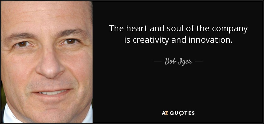 TOP 25 QUOTES BY BOB IGER | A-Z Quotes