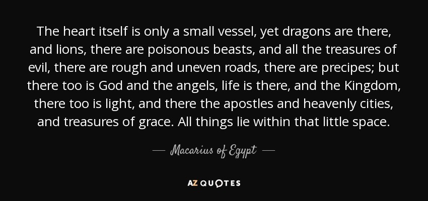 Quotes by macarius of egypt a z quotes macarius of egypt quotes publicscrutiny Images