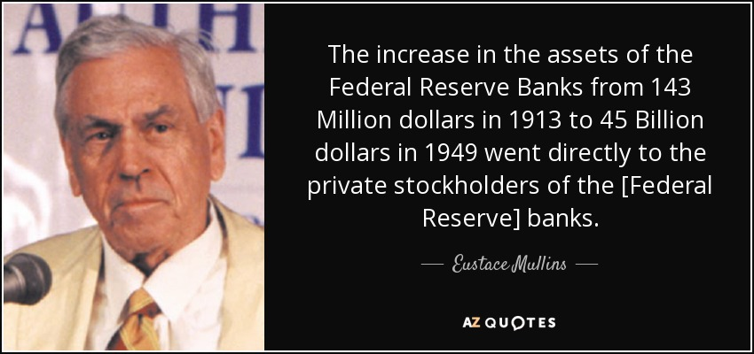 Image result for ezra pound federal reserve bank