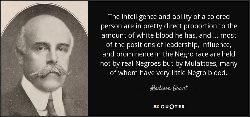 TOP 6 QUOTES BY MADISON GRANT ...