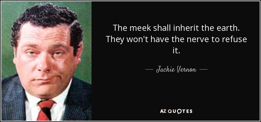 jackie vernon quotes