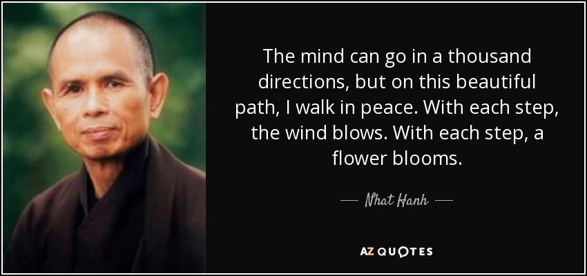 TOP 60 WALKING MEDITATION QUOTES AZ Quotes Simple Meditation Quotes