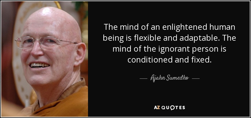 Ajahn Sumedho Quote The Mind Of An Enlightened Human Being Is