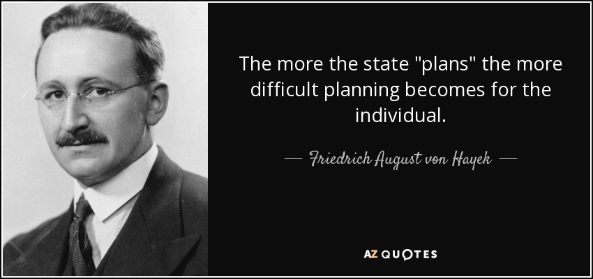 The more the state