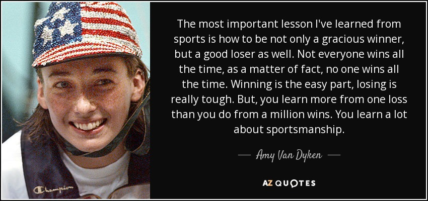 TOP 40 SPORTSMANSHIP QUOTES Of 40 AZ Quotes Beauteous Sportsmanship Quotes