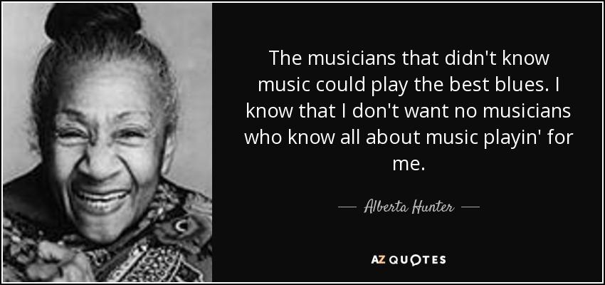 Bessie Smith Quotes Unique Top 9 Quotesalberta Hunter  Az Quotes