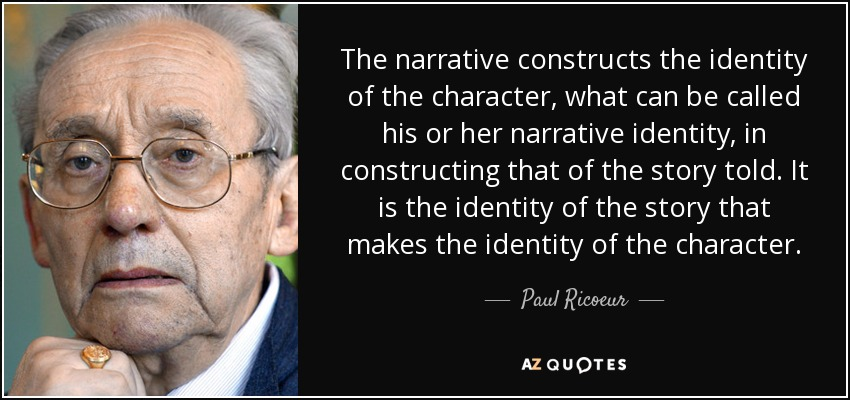 narratives construct a way of thinking Narrative inquiry is a means by which we systematically gather, analyse, and represent people's stories as told by them, which challenges traditional and modernist views of truth, reality, knowledge and.