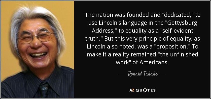 The nation was founded and