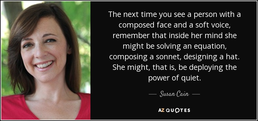 Top 25 Quotes By Susan Cain Of 132 A Z Quotes