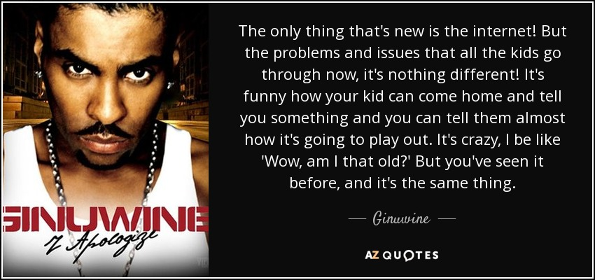 TOP 25 QUOTES BY GINUWINE (of 77) | A-Z Quotes