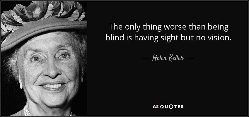 Blind Quotes Classy Top 22 Blind Person Quotes  Az Quotes